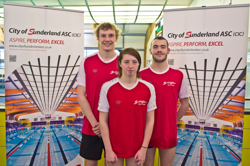 IPC European Team Matt Wylie, Nicole Lough, Josef Craig
