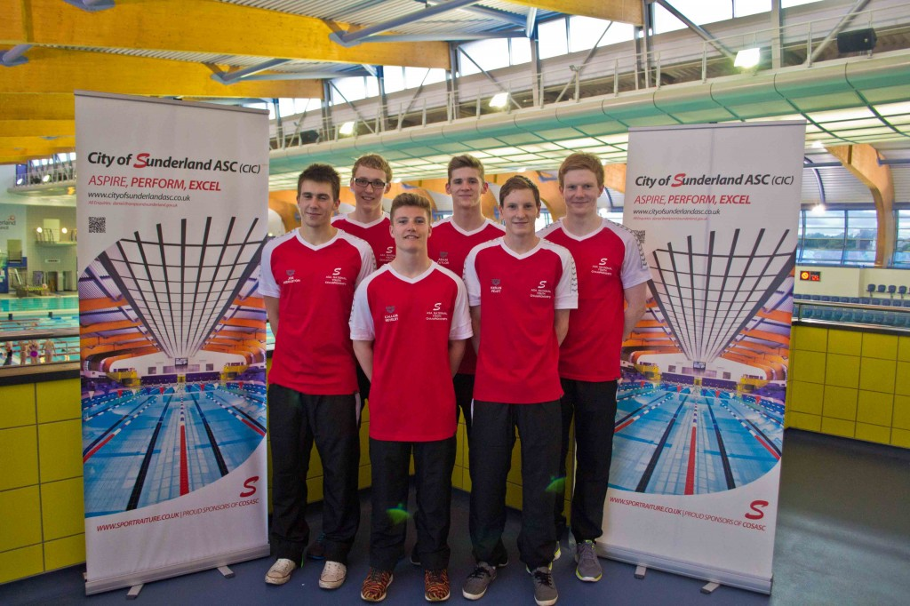 Male Team City of Sunderland Nationals 2014